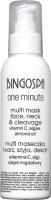 BINGOSPA - One Minute - Multi Mask Face, Neck & Cleavage - Multi face, neck and cleavage mask - 150g