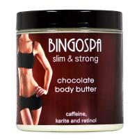 BINGOSPA - Slim&Strong - Chocolate Body Butter - Czekoladowe masło do ciała - 250g