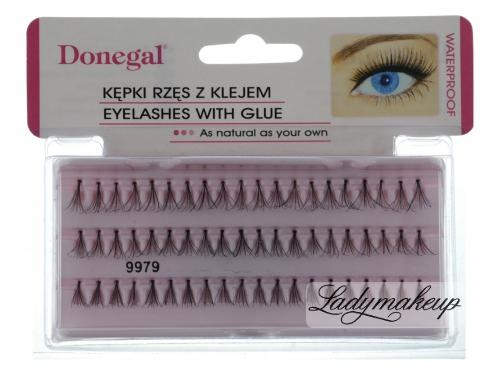 Donegal - EYELASHES WITH GLUE - Kępki rzęs z klejem