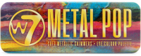 W7 - METAL POP - EYE COLOR PALETTE - Palette of 12 metallic eye shadows