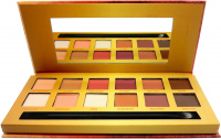 W7 - LIFE'S A PEACH - EYE COLOUR PALETTE - Paleta 12 cieni do powiek