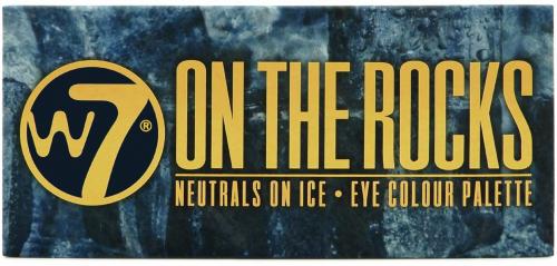W7 - ON THE ROCKS - EYE COLOUR PALETTE - Paleta 14 cieni do powiek
