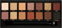 W7 - ROMANCED EYE COLOUR PALETTE - Paleta 14 cieni do powiek