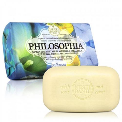 NESTI DANTE - PHILOSOPHIA - Naturalne mydło toaletowe - Kolagen - 250g