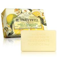 NESTI DANTE - IL FRUTTETO - Natural toilet soap - Lemon & Bergamot