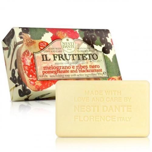 NESTI DANTE - IL FRUTTETO - Naturalne mydło toaletowe - Granat & Czarna porzeczka