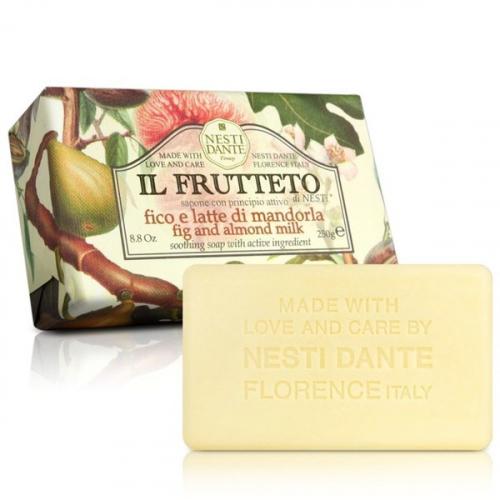NESTI DANTE - IL FRUTTETO - Naturalne mydło toaletowe - Figa & Migdał