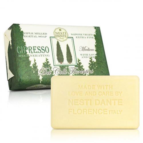 NESTI DANTE - Dei Colli Fiorentini - Naturalne mydło toaletowe - Cipresso Regenerating - 250g