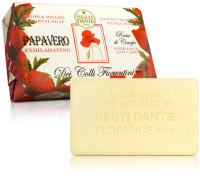 NESTI DANTE - Dei Colli Fiorentini - Natural toilet soap - Papavero Exhilarating - 250g