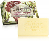 NESTI DANTE - IL FRUTTETO - Natural toilet soap - Blueberry & Red grape