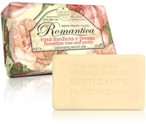 NESTI DANTE - Romantica - Mydło toaletowe - Róża & Peonia