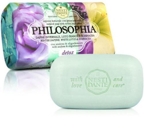 NESTI DANTE - PHILOSOPHIA - Naturalne mydło toaletowe - Detox - 250g