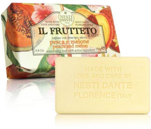 NESTI DANTE - IL FRUTTETO - Naturalne mydło toaletowe - Brzoskwinia & Melon