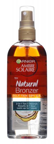 GARNIER - AMBRE SOLAIRE - NATURAL BRONZER - Self Tan Dry Oil - Samoopalający suchy olejek do ciała - 150 ml