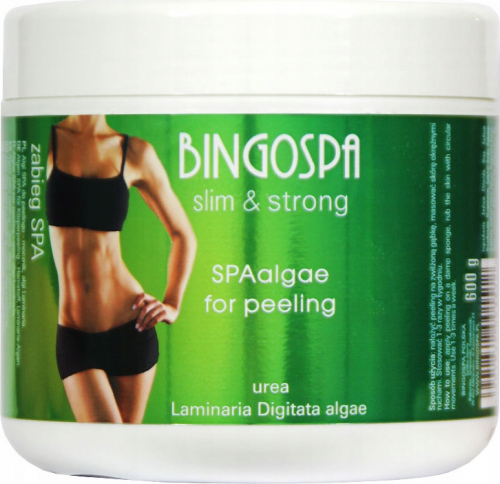 BINGOSPA - Slim & Strong - SPA Algae for Peeling - 600g