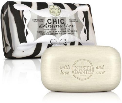 NESTI DANTE - CHIC Animalier - Naturalne mydło toaletowe - Biały Tygrys - 250g