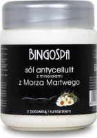 BINGOSPA - Anti-cellulite salt with Dead Sea minerals - 550g