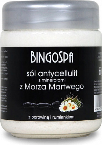 BINGOSPA - Anti-cellulite salt with Dead Sea minerals - 550g