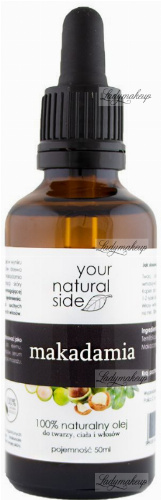 Your Natural Side  100% naturalny olej makadamia - 50 ml