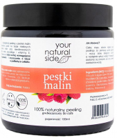 Your Natural Side - 100 % naturalny peeling z pestkami malin