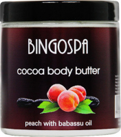 BINGOSPA - Cocoa Body Butter - Cocoa body butter with peach and babassu oil - 250g