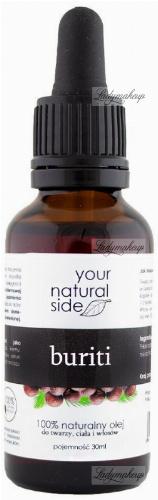 Your Natural Side - 100% naturalny olej buriti - 30 ml