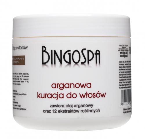 BINGOSPA - Argan hair treatment with extract from 12 plants - 500g