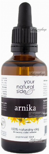 Your Natural Side - 100% naturalny olej z arniki - 50 ml