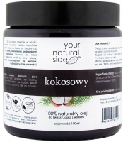 Your Natural Side - 100% Natural Coconut Oil - Unrefined - 100 ml