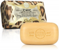 NESTI DANTE - CHIC Animalier - Natural toilet soap - Brown Leopard - 250g