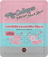 Holika Holika - Pig-Collagen Jelly Gel Mask Sheet - Przeciwzmarszczkowa, hydrożelowa maseczka do twarzy
