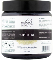 Your Natural Side - 100% naturalna zielona glinka - 100g