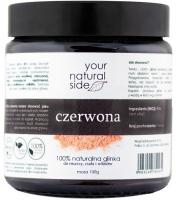 Your Natural Side - 100% naturalna glinka czerwona - 100 g