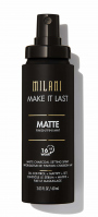 MILANI - MAKE IT LAST - MATTE CHARCOAL SETTING SPRAY - Spray makeup fixer with the addition of activated charcoal