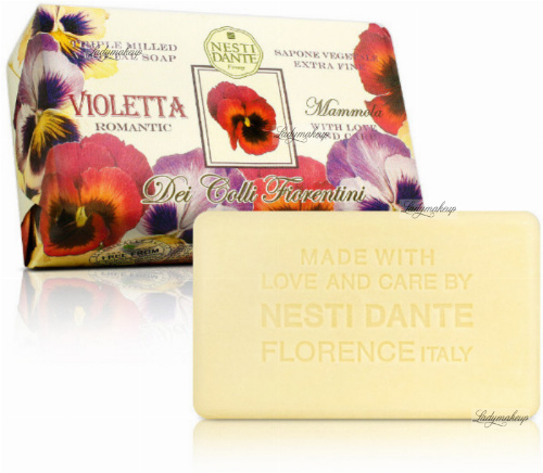 NESTI DANTE - Dei Colli Fiorentini - Natural toilet soap - Violett Romantic - 250g
