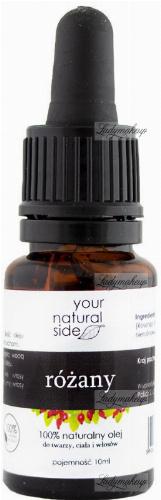 Your Natural Side - 100% naturalny olej różany - 10 ml