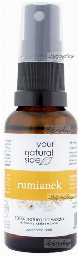 Your Natural Side - 100% naturalna woda rumiankowa - 30 ml