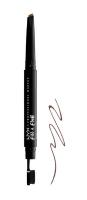 NYX Professional Makeup - Fill & Fluff Eyebrow Pomade Pencil - Pomada w kredce do wypełniania brwi  - CHOCOLATE - CHOCOLATE