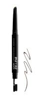NYX Professional Makeup - Fill & Fluff Eyebrow Pomade Pencil - Pomada w kredce do wypełniania brwi  - BRUNETTE - BRUNETTE