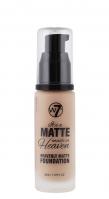 W7 - It's a Matte made in Heaven - HEAVENLY MATTE FOUNDATION - Matujący podkład do twarzy - EARLY TAN - EARLY TAN