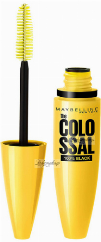 MAYBELLINE - The COLOSSAL VOLUM' EXPRESS MASCARA - SMOKY EYES - Pogrubiający tusz do rzęs - SMOKY BLACK
