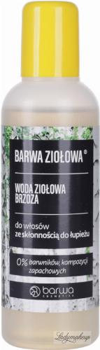 BARWA - Woda brzozowa do włosów z łupieżem