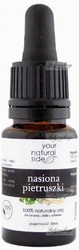 Your Natural Side - 100% naturalny olej z nasion pietruszki - 10 ml