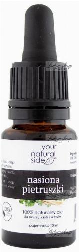 Your Natural Side - 100% naturalny olej z nasion pietruszki - 10 ml