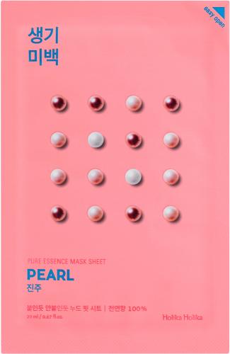 Holika Holika - Pure Essence Mask Sheet Pearl - Maseczka do twarzy z ekstraktem z pereł