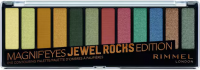 RIMMEL - MAGNIF'EYES - Eye Contouring Palette - 12 eyeshadows - 009 JEWEL ROCKS EDITION