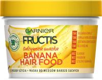 GARNIER - FRUCTIS - BANANA HAIR FOOD MASK - Odżywcza maska do włosów - Banan
