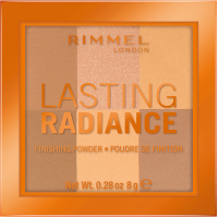 RIMMEL - LASTING RADIANCE FINISHING POWDER - Brightening powder for fixing make-up - 002 - HONEYCOMB - 002 - HONEYCOMB