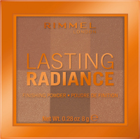 RIMMEL - LASTING RADIANCE FINISHING POWDER - Brightening powder for fixing make-up - 003 - ESPRESSO - 003 - ESPRESSO