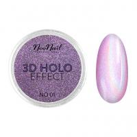 NeoNail - 3D HOLO EFFECT - Holograficzny, trójwymiarowy pyłek do paznokci - 5329-1 - 5329-1